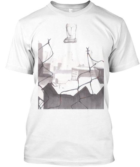 Kurama White T-Shirt Front