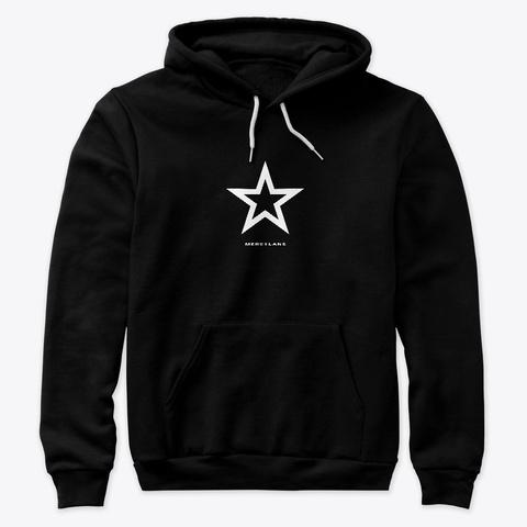 Black Mercy Merch   Star  Black T-Shirt Front