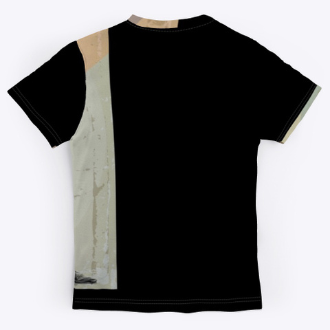 """Selina Albright """"Discovering"""" Collection Black T-Shirt Back"""