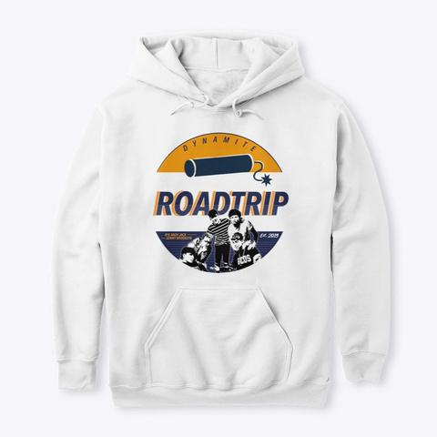 Roadtrip Dynamaite Popart (O/B) White T-Shirt Front