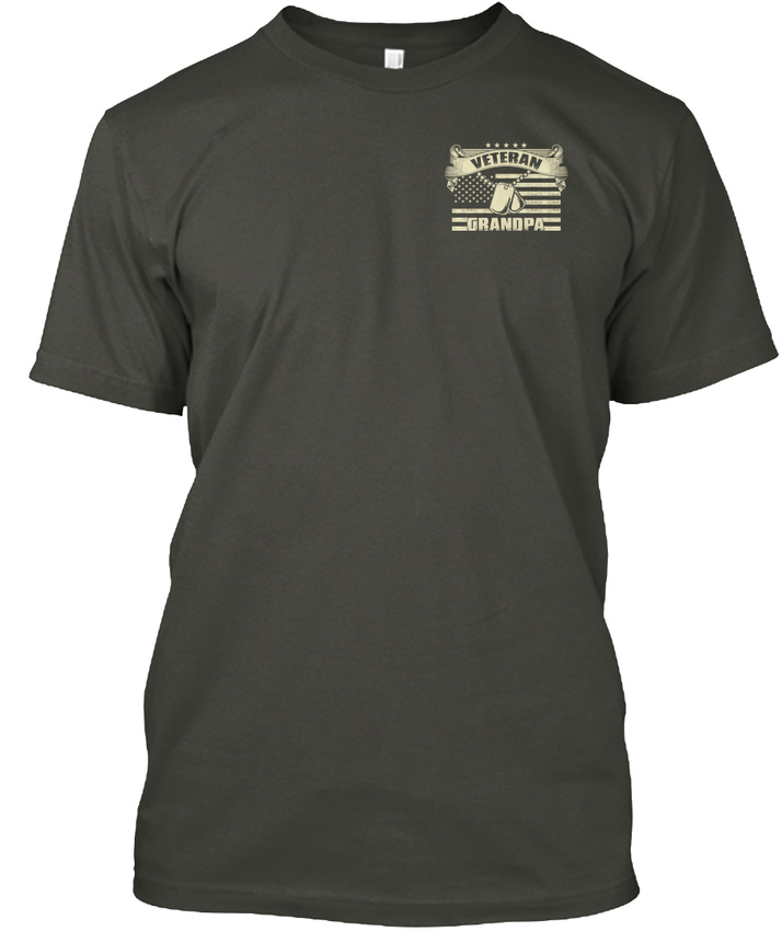 Latest-Veteran-Grandpa-I-M-Proud-To-Be-A-And-My-Oath-Hanes-Tagless-Tee-T-Shirt thumbnail 14