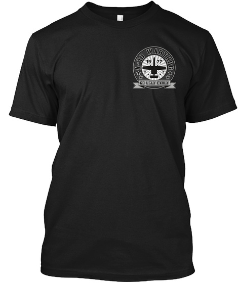 Na ( Not Understoodable) Black T-Shirt Front