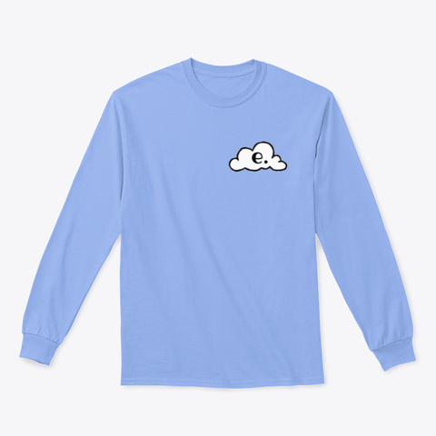 Emanate: The Turtle Light Blue T-Shirt Front