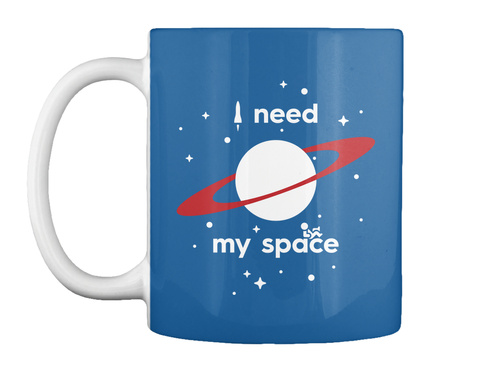 My Space Planet Mug [Usa] #Sfsf Dk Royal Mug Front