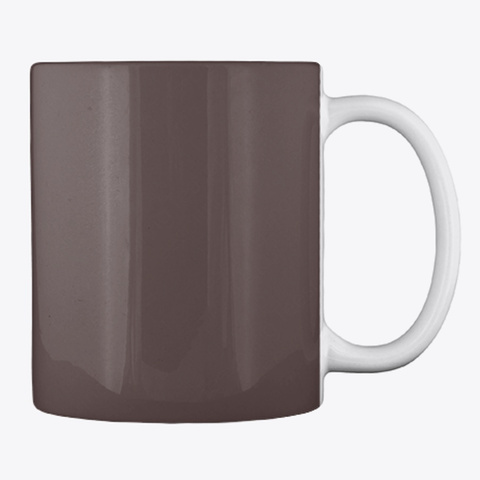 Dickgun Coffee Mug Dark Brown T-Shirt Back