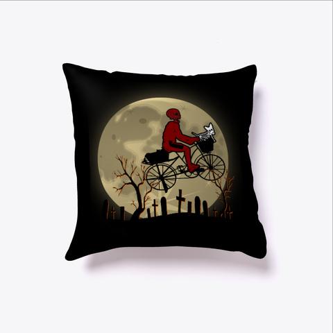 Merry Christmas Xmas Skull Cycle Humor  Black T-Shirt Front