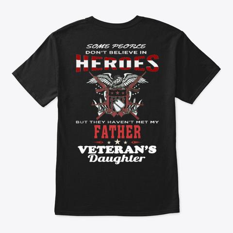 Veteran   Soldier   Military   Vet   881 Black T-Shirt Back