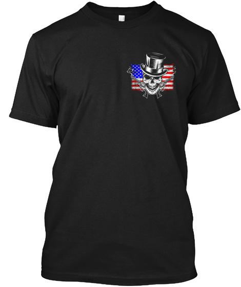 Deplorable Gentleman   Nc Chapter Black T-Shirt Front