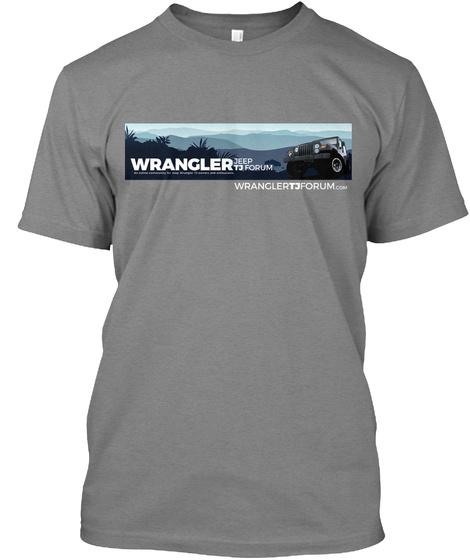 Wrangler Jeep Tj Forum Wranglertjforum.Com Premium Heather T-Shirt Front