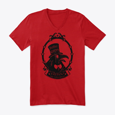 Brother Raven's Logo Gear Red T-Shirt Front
