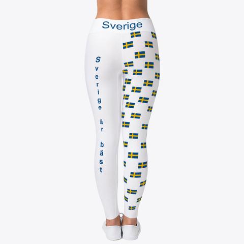 Sverige är Bäst Wm Leggins Ellesson Standard T-Shirt Back