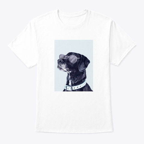 New Dog In Town White T-Shirt Front