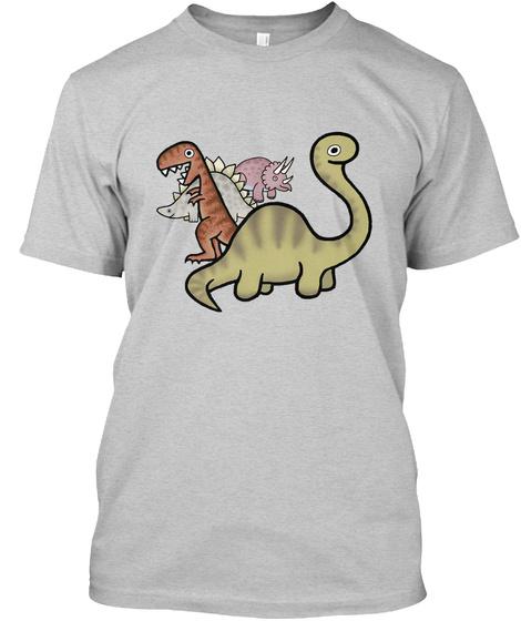 Chrono Dinos Light Steel T-Shirt Front