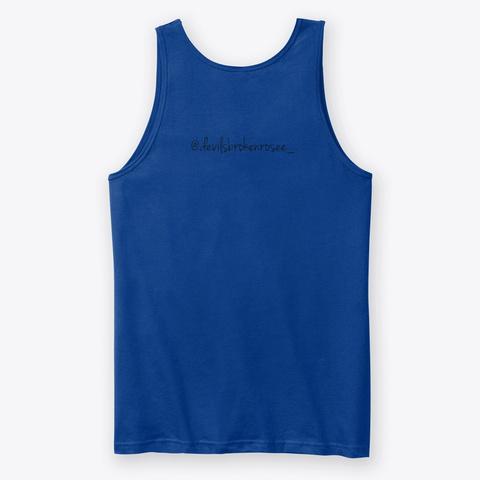 Glitchh True Royal T-Shirt Back