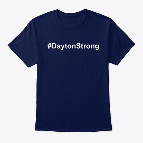 Dayton Strong T Shirts Navy T-Shirt Front