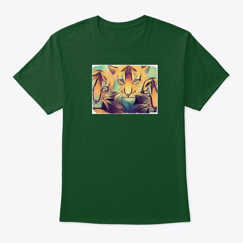 Tiger 3 Deep Forest T-Shirt Front
