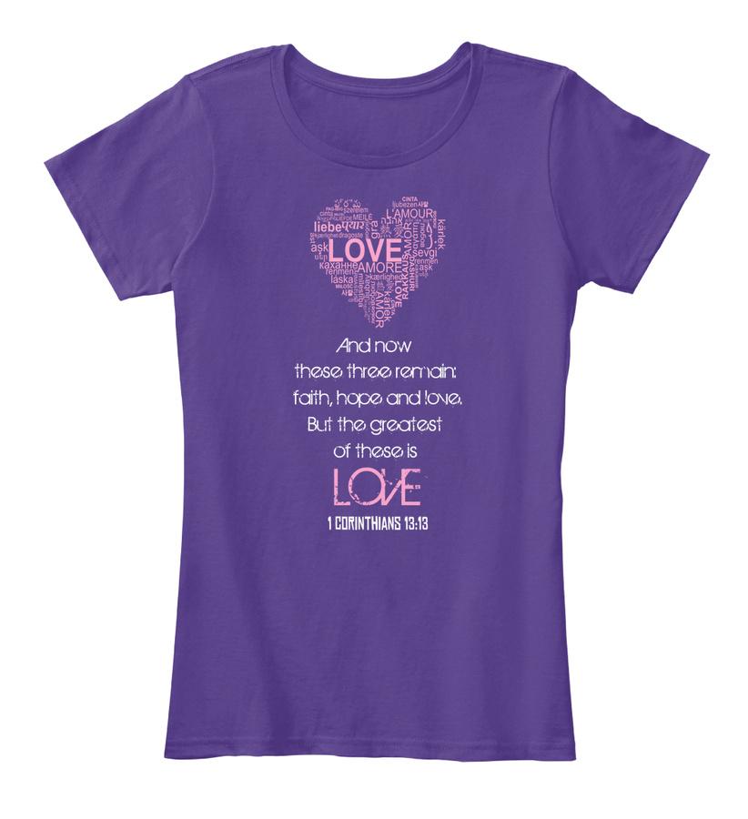 1 Corinthians 1313 Love T-shirt Unisex Tshirt