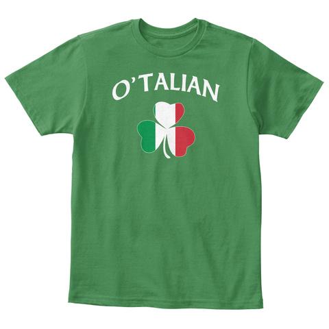 O'talian  Kelly Green  T-Shirt Front