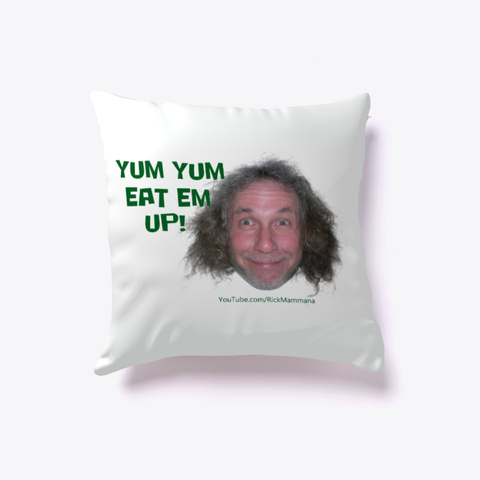 Yum Yum Flag Or Pillow Standard T-Shirt Front