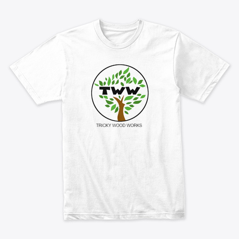 Tww Tree Of Life Series White T-Shirt Front