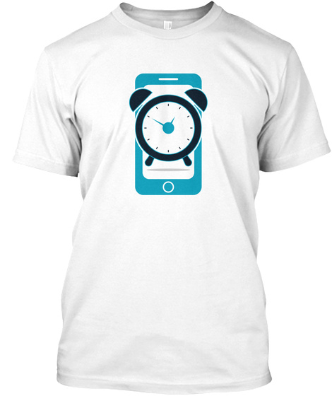 Alarm Phone White T-Shirt Front