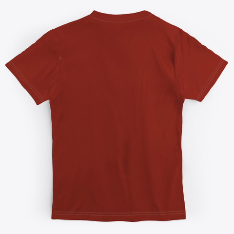 Biomed Rx Cbd Dark Red T-Shirt Back