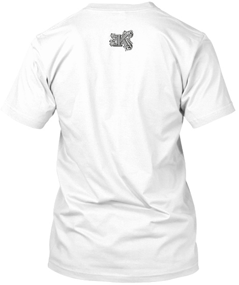The Valley White T-Shirt Back