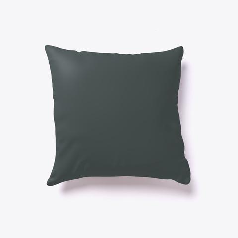 Funny Candy Corn Heart  Pillow Dark Grey T-Shirt Back