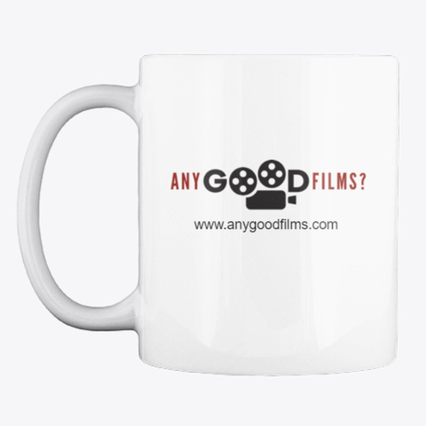 Classic Mug With Any Good Films Logo White T-Shirt Front