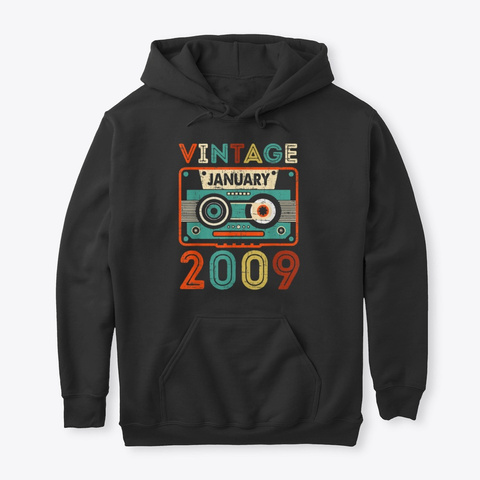 11Th Birthday Gifts Vintage January LongSleeve Tee