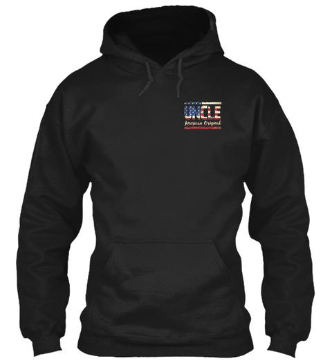 Uncle American Original Black Camiseta Front