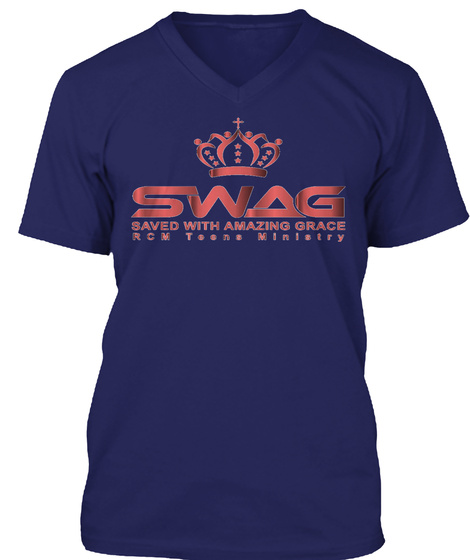 Rcm Teen Ministry Navy T-Shirt Front
