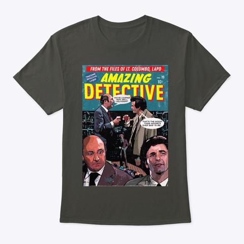 Columbo Port Smoke Gray T-Shirt Front