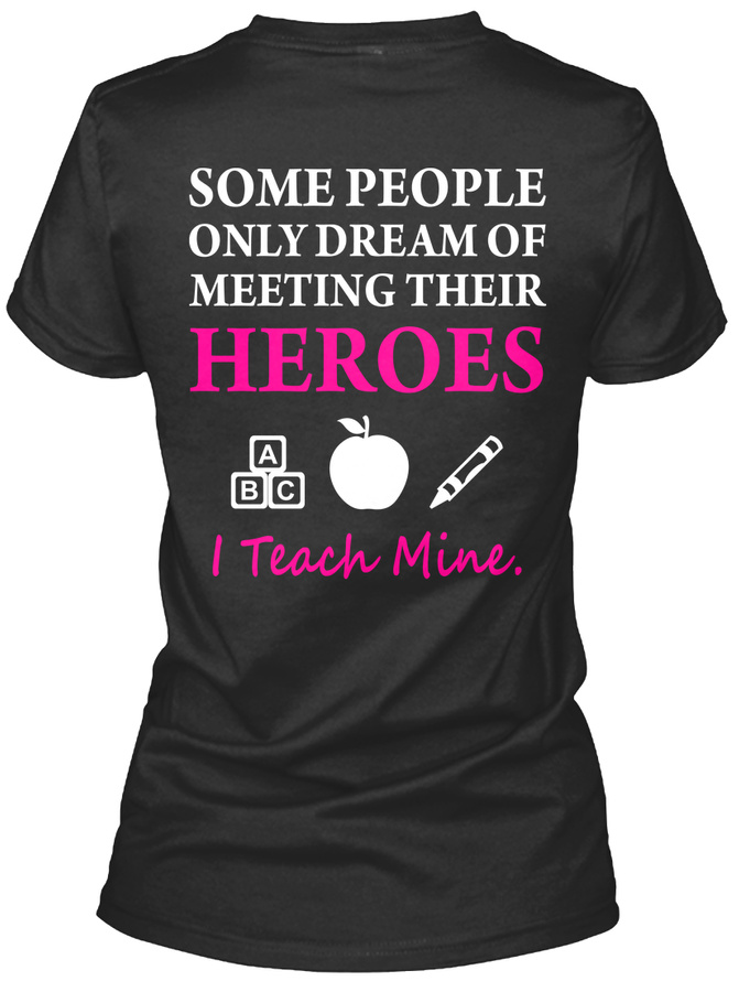 Early Childhood Educator I Teach Heroes Unisex Tshirt