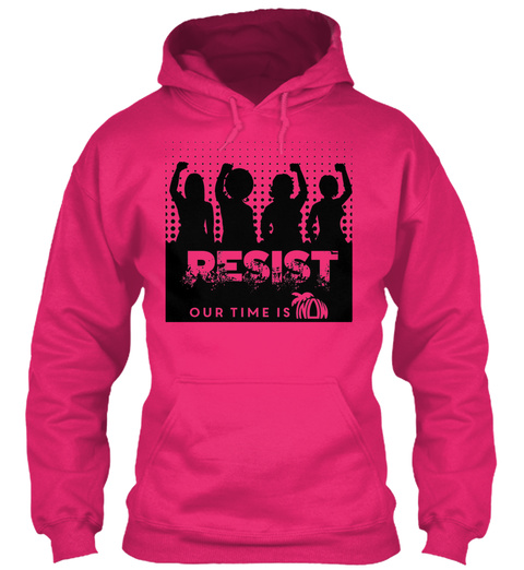 Fl Now Resist 2017 Winter Activism Wear Heliconia Sweatshirt Front