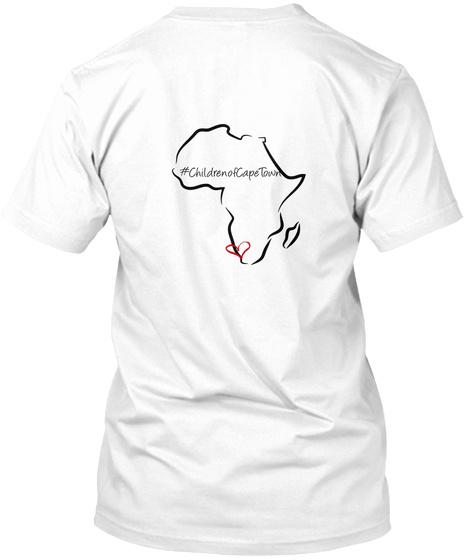 #Childrenofcaperowm White T-Shirt Back
