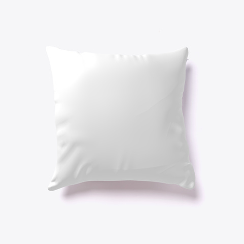 Beauty And Beast Pillow Cover White T-Shirt Back