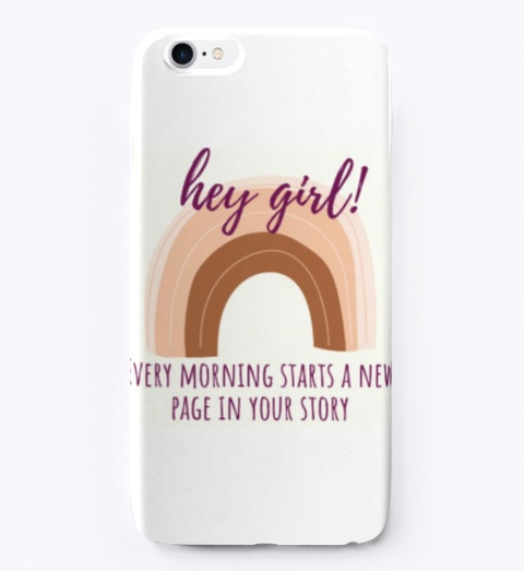 Front of It's a New Day iPhone Case