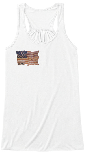 Bubba's Got Your Six Womens Tanks White Women's Tank Top Front