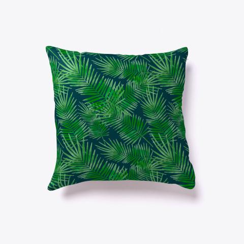Palm Leaf   Tropical Floral Pattern Standard T-Shirt Back