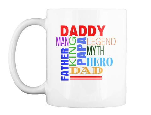 Fathers Day Mugs White Mug Front