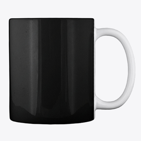 Wine Halloween Mug Black Mug Back