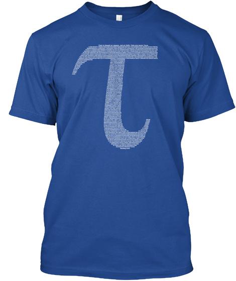 T T/2 T/3 T/4 T/6 T/8 T/12 0,T 3t/4 Deep Royal T-Shirt Front