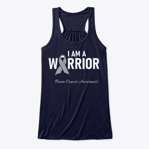 Brain Cancer Awareness Hero Midnight T-Shirt Front
