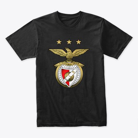 Benfica Black T-Shirt Front