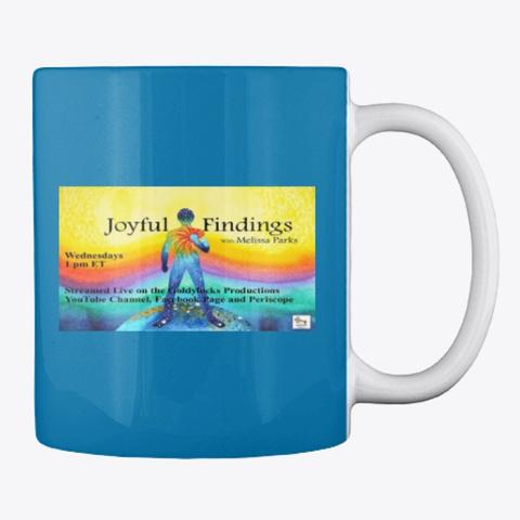 Joyful Findings Show Royal Blue T-Shirt Back