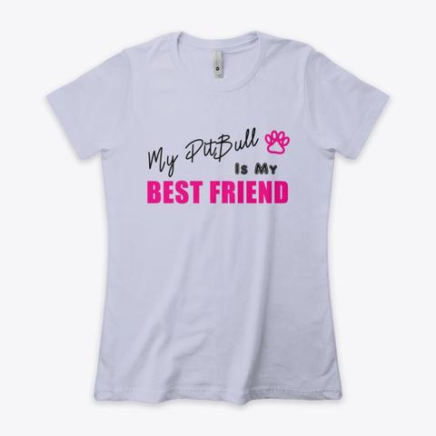 💛 Women's T Shirt, Best Friend Heather Gray  T-Shirt Front