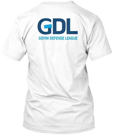 Official T Shirt Of The Gdl White T-Shirt Back