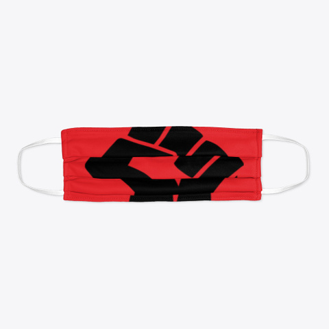 #Blm Power Red T-Shirt Flat