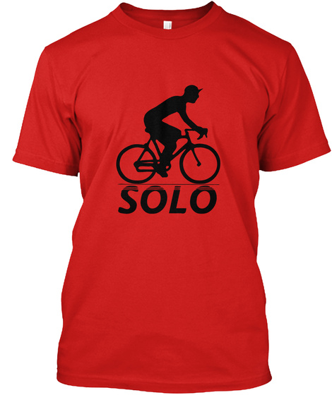 Solo Red T-Shirt Front